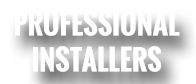 Professional Installers Website