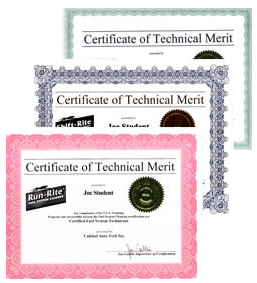 Certification Run-Rite